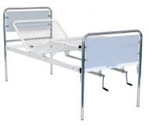 Double-Manual Hospital Bed